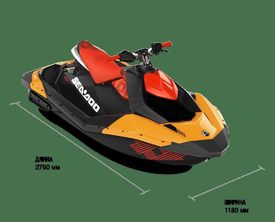 Sea-Doo SPARK 3UP 900 HO ACE TRIXX (2018)