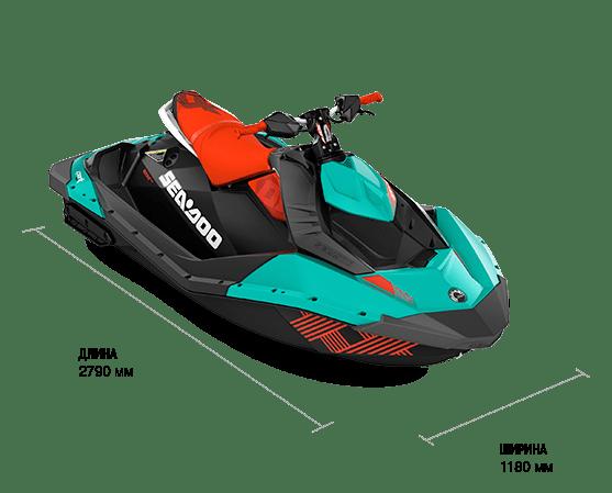 Sea-Doo SPARK 2UP 900 HO ACE TRIXX (2018)
