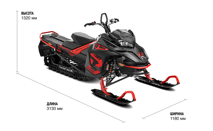 Lynx BoonDocker RE 3700 850 E-TEC (2019)