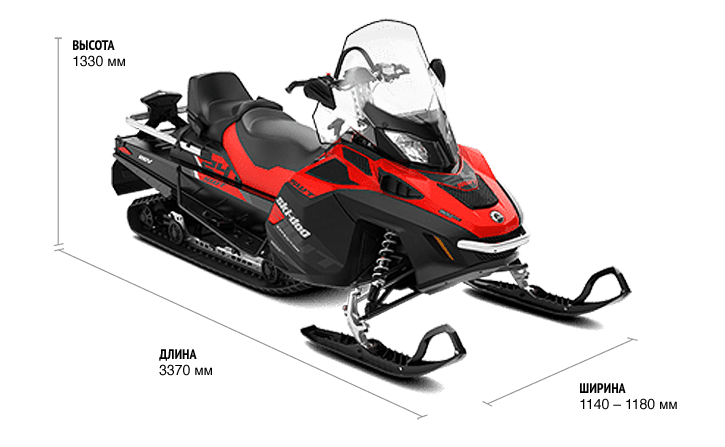 Ski-Doo Expedition SWT 900 ACE (2019)