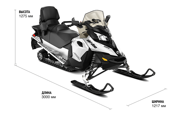 Ski-Doo Grand Touring 900 ACE Turbo (2019)