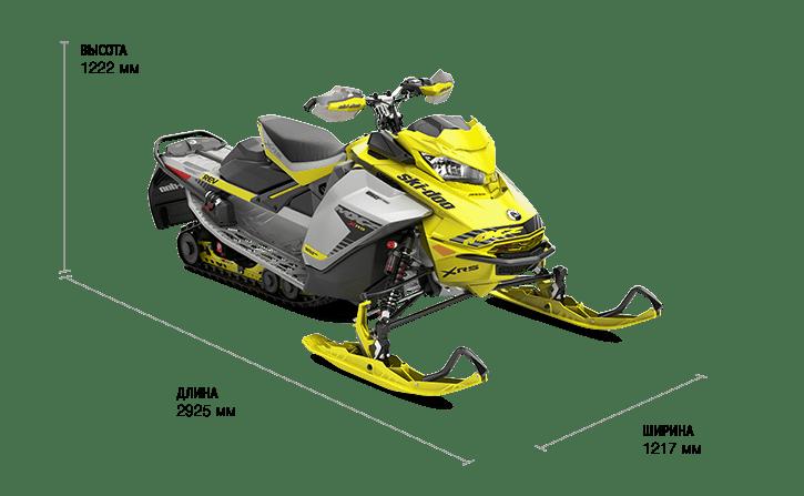 Ski-Doo MXZ X-RS 850 E-TEC (2019)