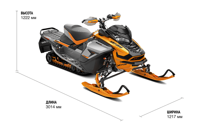 "Ski-Doo Renegade X-RS 900 ACE TURBO 137"" (2019)"