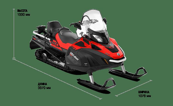 Ski-Doo Skandic WT 600 E-TEC (2019)