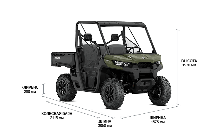 Can-Am Traxter DPS HD8 (2020 м.г.)