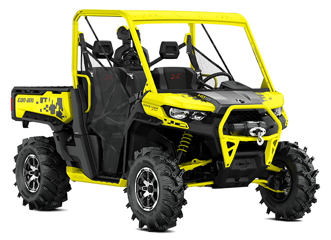 BRP Can-Am Traxter HD10 X MR (2019 м.г.)