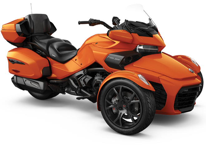 Can-Am Spyder F3 LIMITED (2019) - Оранжевый