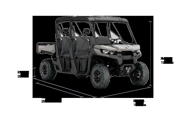 BRP Can-Am Traxter MAX XT HD10 (2018 м.г.)