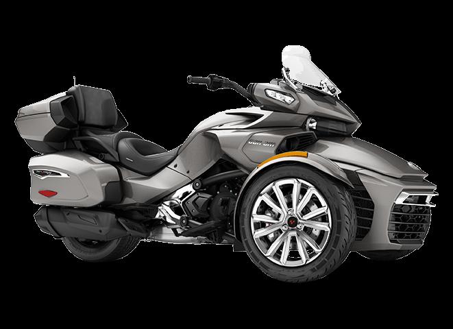 BRP Spyder F3 LTD - Белый