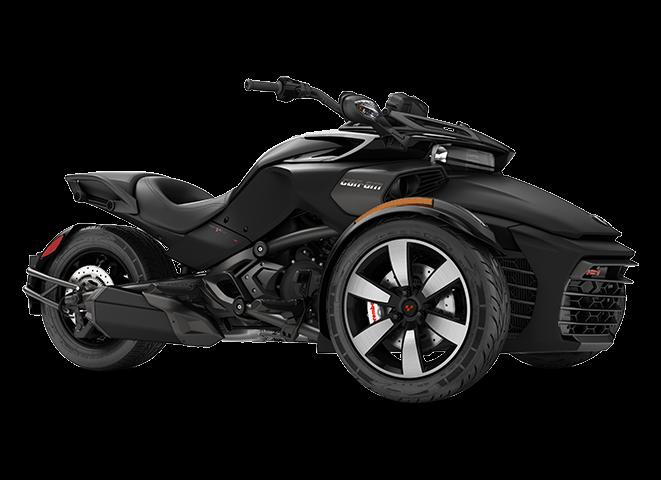 BRP Spyder F3 S - Серый