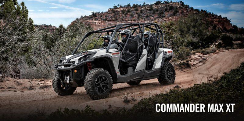 BRP Can-Am Commander MAX 1000 XT (2017 м.г.)
