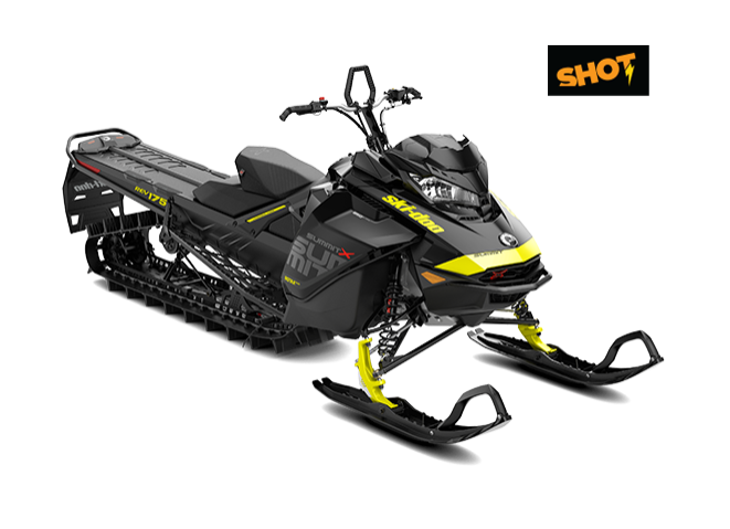 "Ski-Doo Summit X 850 175"" SHOT 2018"