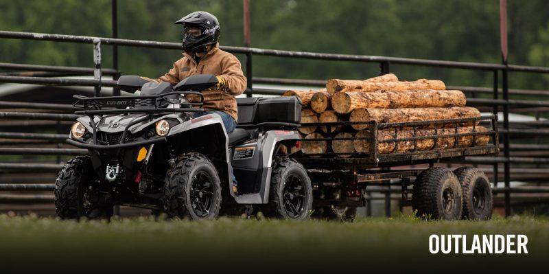 BRP Can-Am Outlander 450 Pro (2017 м.г.)