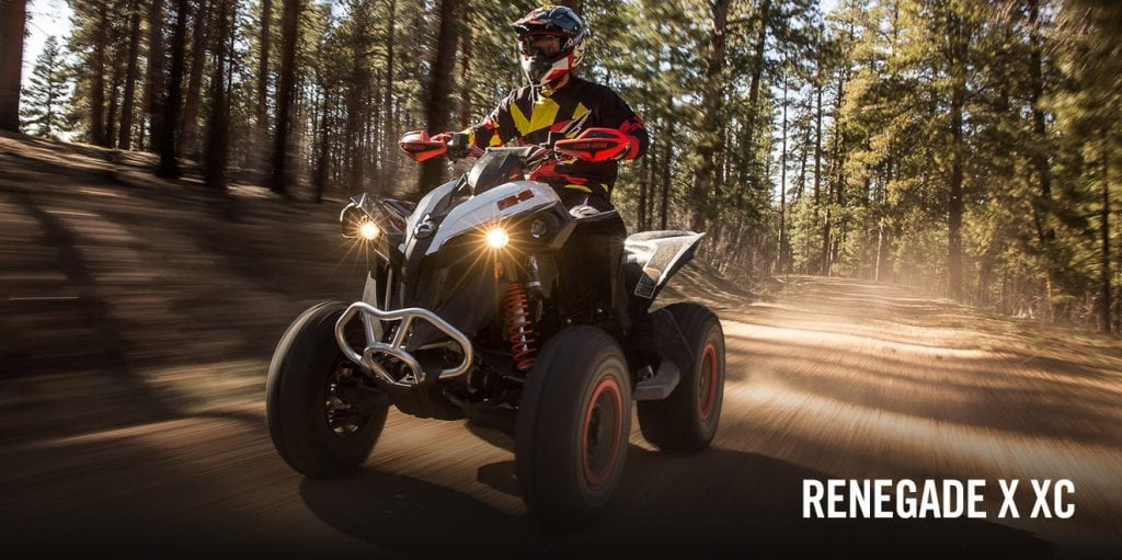 BRP Can-Am Renegade 570 (2018 м.г.)
