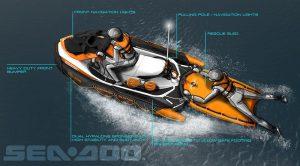 Sea-Doo SAR (Search And Rescue) 155