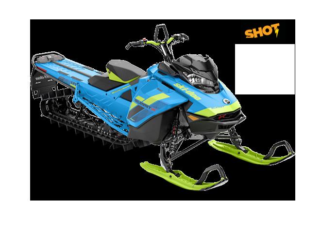 "Ski-Doo Summit X 850 154"" SHOT 2018"