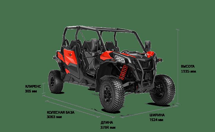 BRP Can-Am Maverick Sport MAX 1000R DPS T (2019)