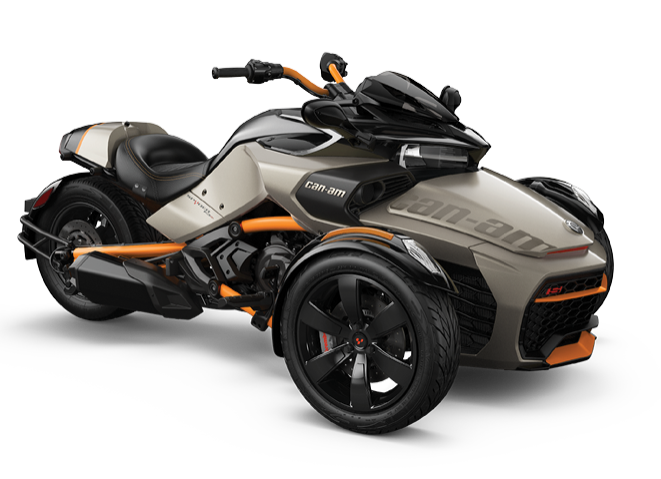 Can-Am Spyder F3-S (2019) - Титан