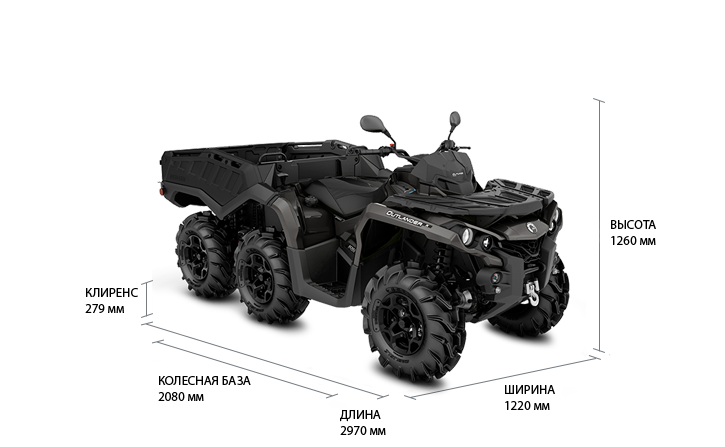 Can-Am Outlander 6x6 1000 PRO (2020 м.г.)