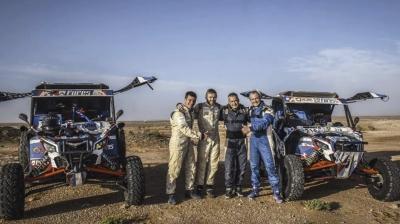 Экипаж из России на Can-Am Maverick одержал победу на ралли в Марокко