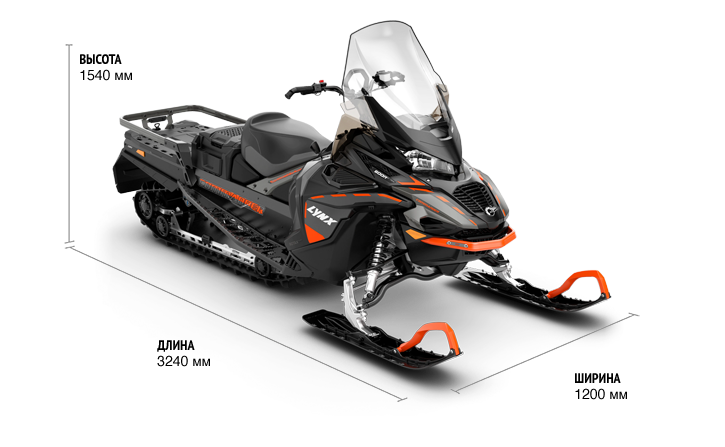 Commander LTD 900 ACE Turbo (650W) ES 2021