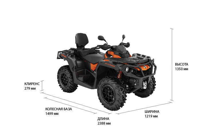 Can-Am OUTLANDER MAX XT-P 650 ABS 2021