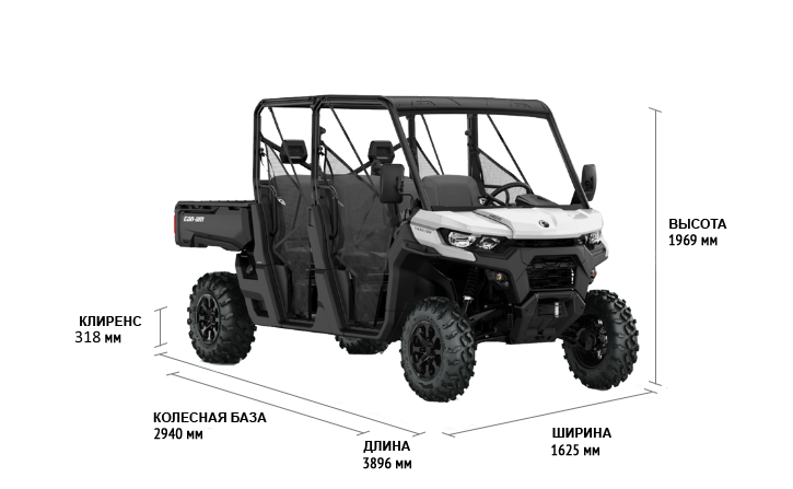 Can-Am TRAXTER MAX DPS HD10 2021