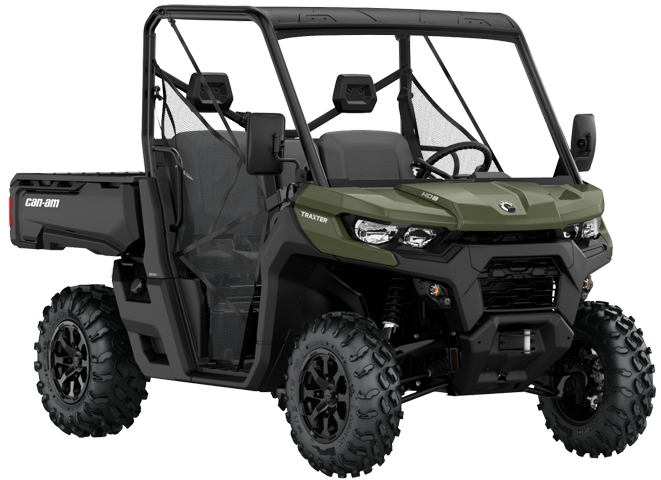 Can-Am TRAXTER DPS HD8 2021