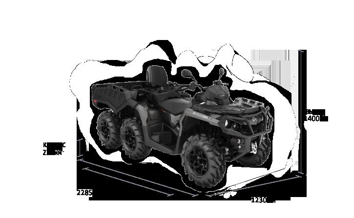 Can-Am OUTLANDER MAX 6×6 XU+ 1000 2021
