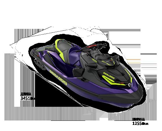 Sea-Doo RXT-XRS 300 С АУДИОСИСТЕМОЙ 2021