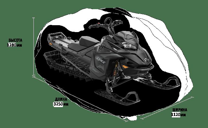 Lynx BOONDOCKER DS 3900 850 E-TEC DSHOT BLACK EDITION 2022