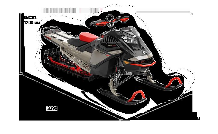 Ski-Doo SUMMIT EXPERT 165 850 E-TEC TURBO SHOT 2022