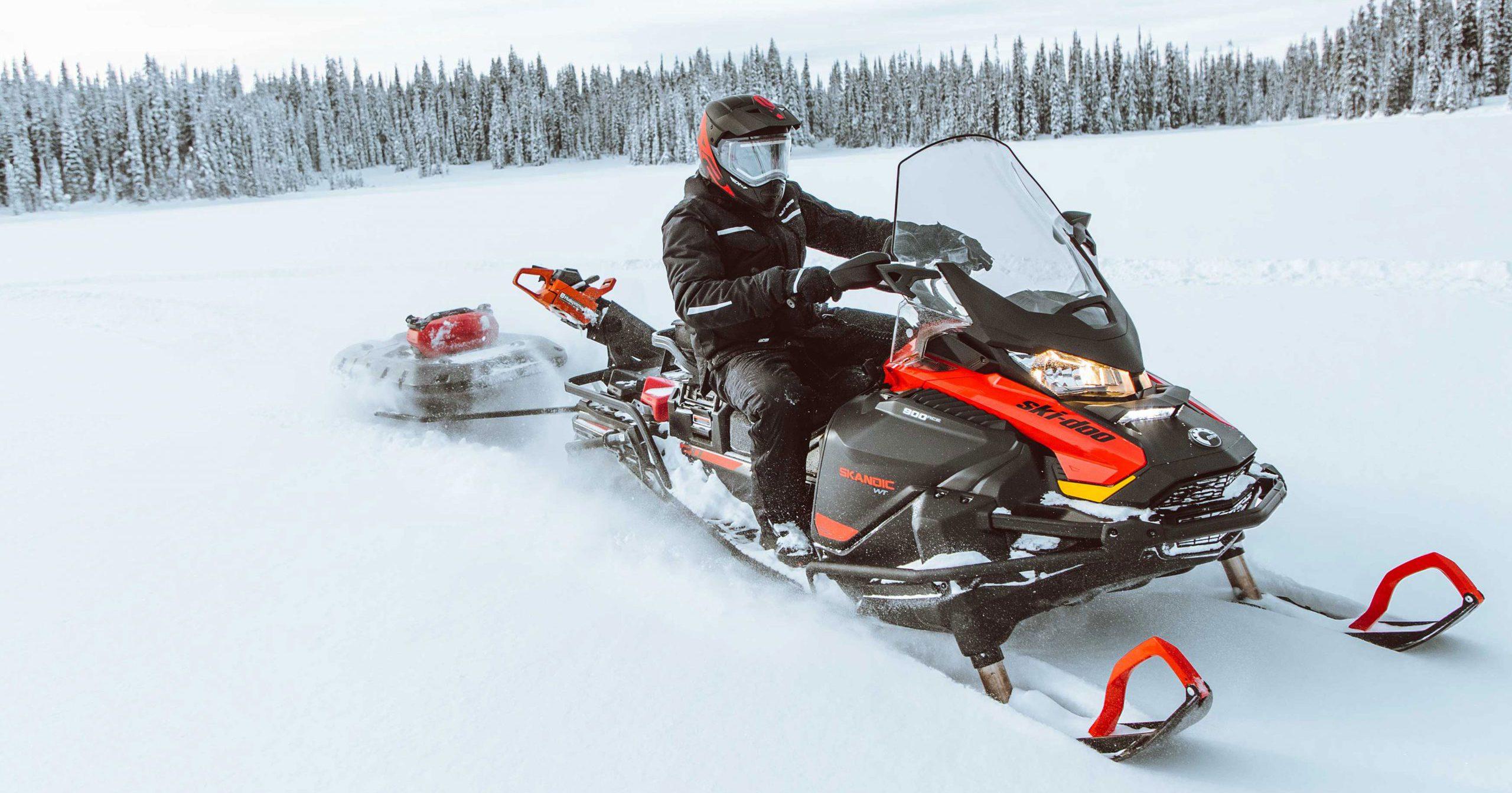 ТОП-5 лучших утилитарных и туристических снегоходов