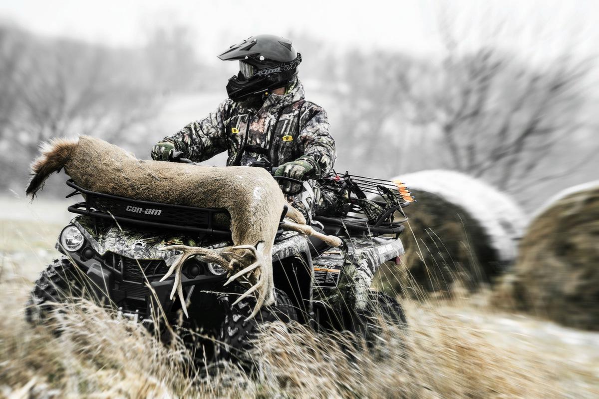 Квадроциклы для охоты и рыбалки: выбираем лучший