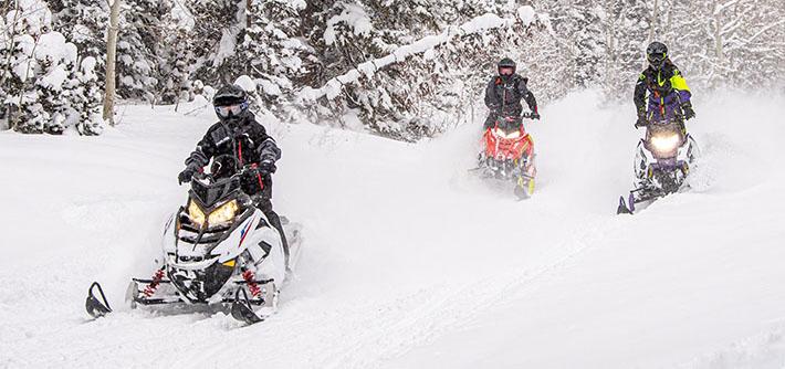 Снегоходы Поларис – альтернатива BRP?