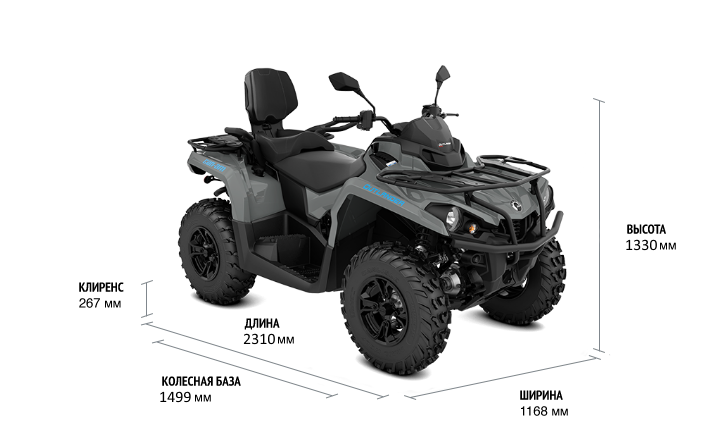 Can-Am OUTLANDER MAX DPS T 570 2022